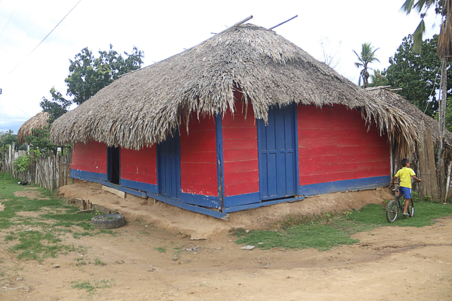 Caribia, primer corregimiento de Necoclí