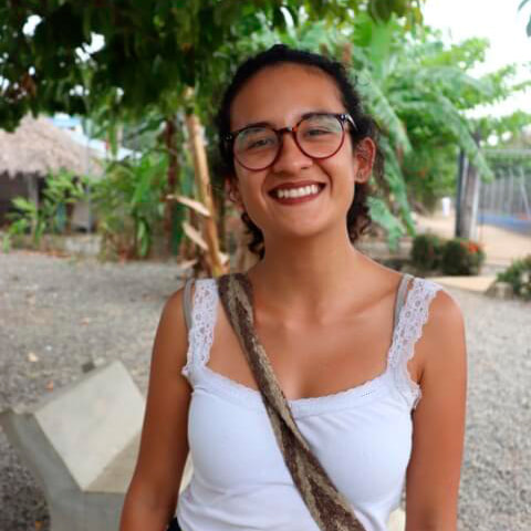 Daniela Ruiz, colaboradora de Necocli tiene magia