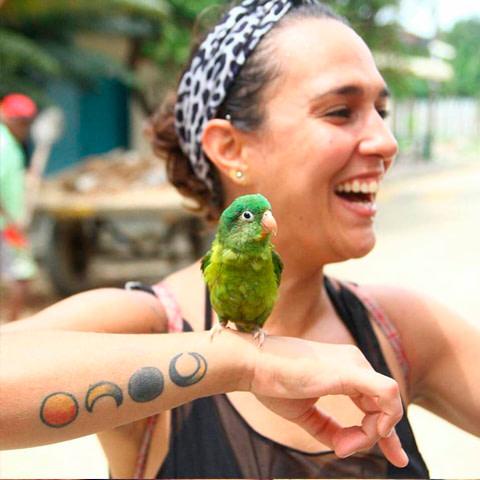 Ángela Escobar Isaza, colaboradora de Necocli tiene magia